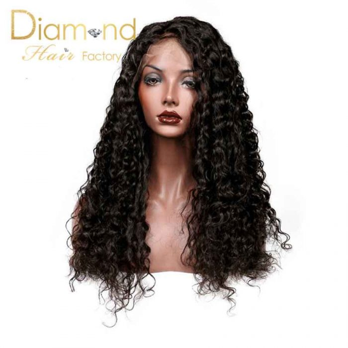 Full Lace Wig Deep Curly